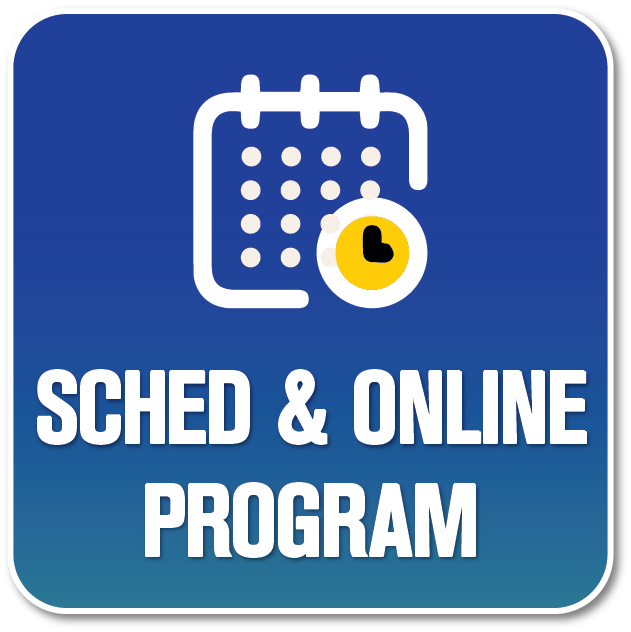 Sched and Online Program icon